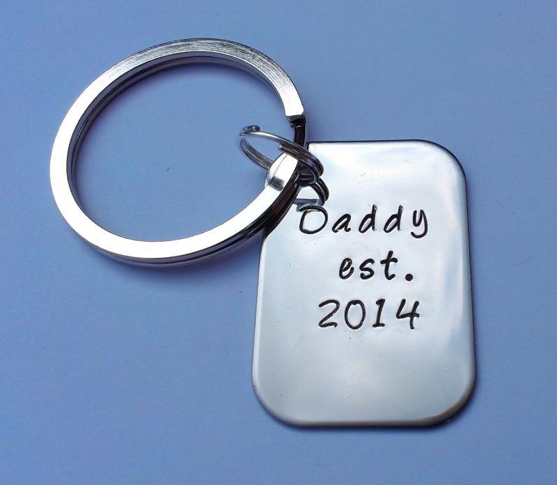daddy est keyring