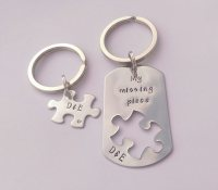 My Missing Piece Keyring set