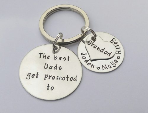 The best Dads get promoted to.... keyring