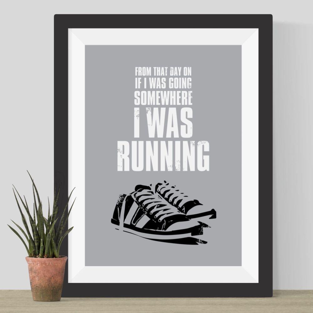 Run Forrest Run Print