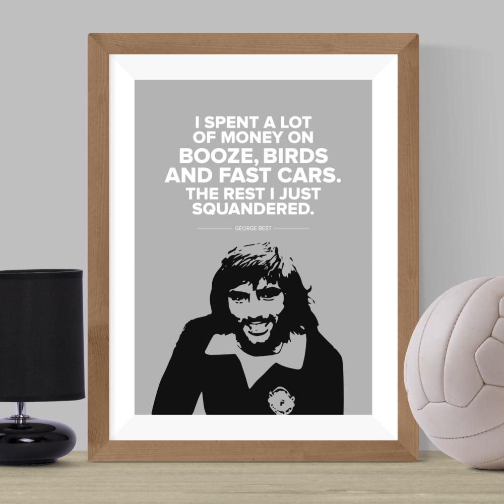 George Best Print