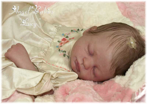 Sleeping - Lucy Kit by Marissa May - *COMPLETE REBORN STARTER SET!!* Makes