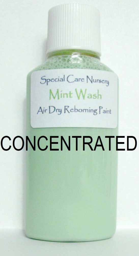 Special Care Nursery Air dry paints - *  The Washes* No.1 - 30ml MINT WASH