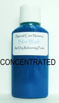Special Care Nursery Air dry paints - *  The Washes* No.2 - 30ml BLUE WASH *CONCENTRATED* Requires dilution with our thinners.