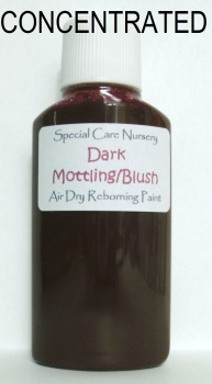 Special Care Nursery Air dry paints - *  The Washes* No.5 - 30ml DARK MOTTLING BLUSH WASH. *CONCENTRATED* Requires dilution with our thinners.