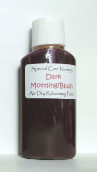Special Care Nursery Air dry paints - *  The Washes* No.5 - 30ml DARK MOTTLING BLUSH WASH. For Use With The Special Care Nursery Air Dry Reborning Pai