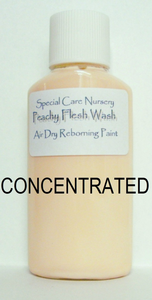 Special Care Nursery Air dry paints - *  The Washes* No.8 - 30ml PEACHY FLE