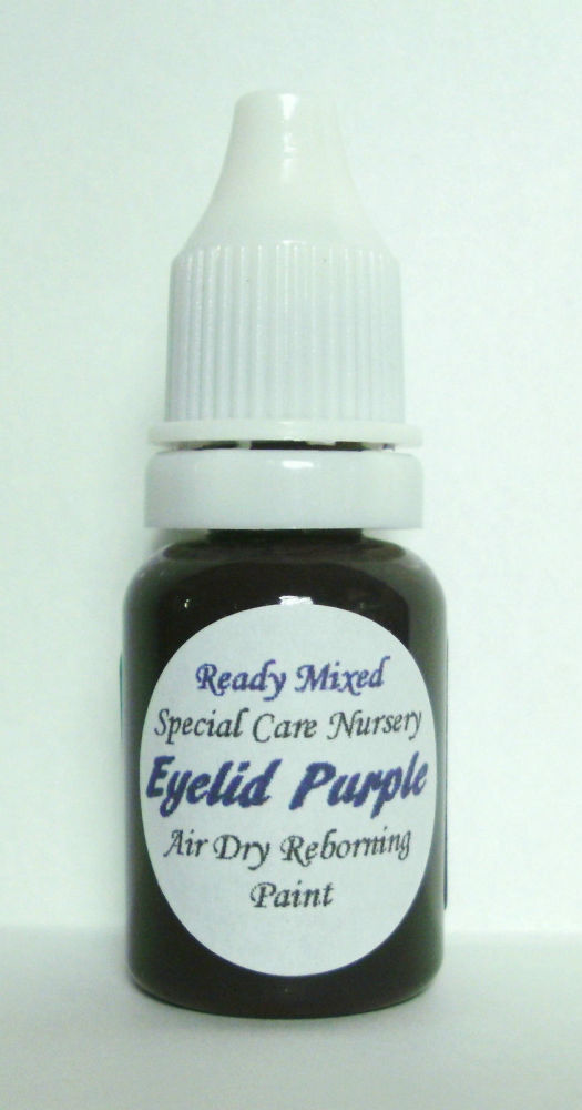 Special Care Nursery Air dry paints - * The Detailing paints* - 10ml Eyelid