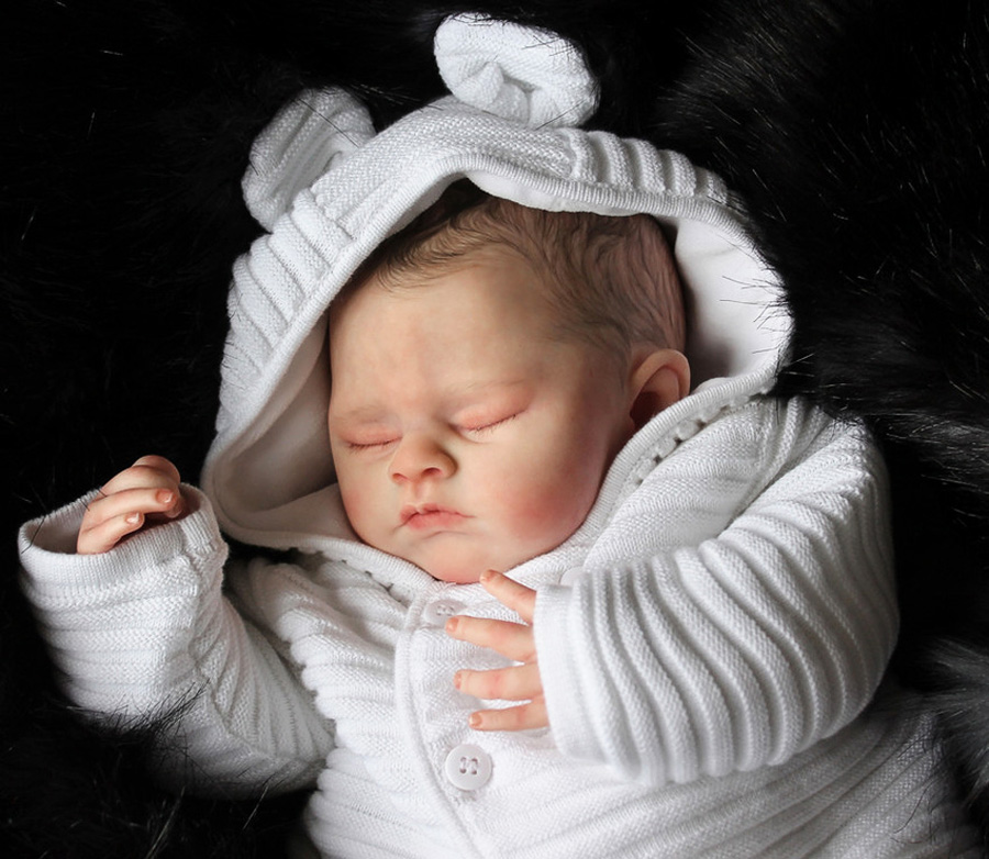 Sleeping - Sadie kit by Marissa May - *COMPLETE REBORN STARTER SET!!* Makes