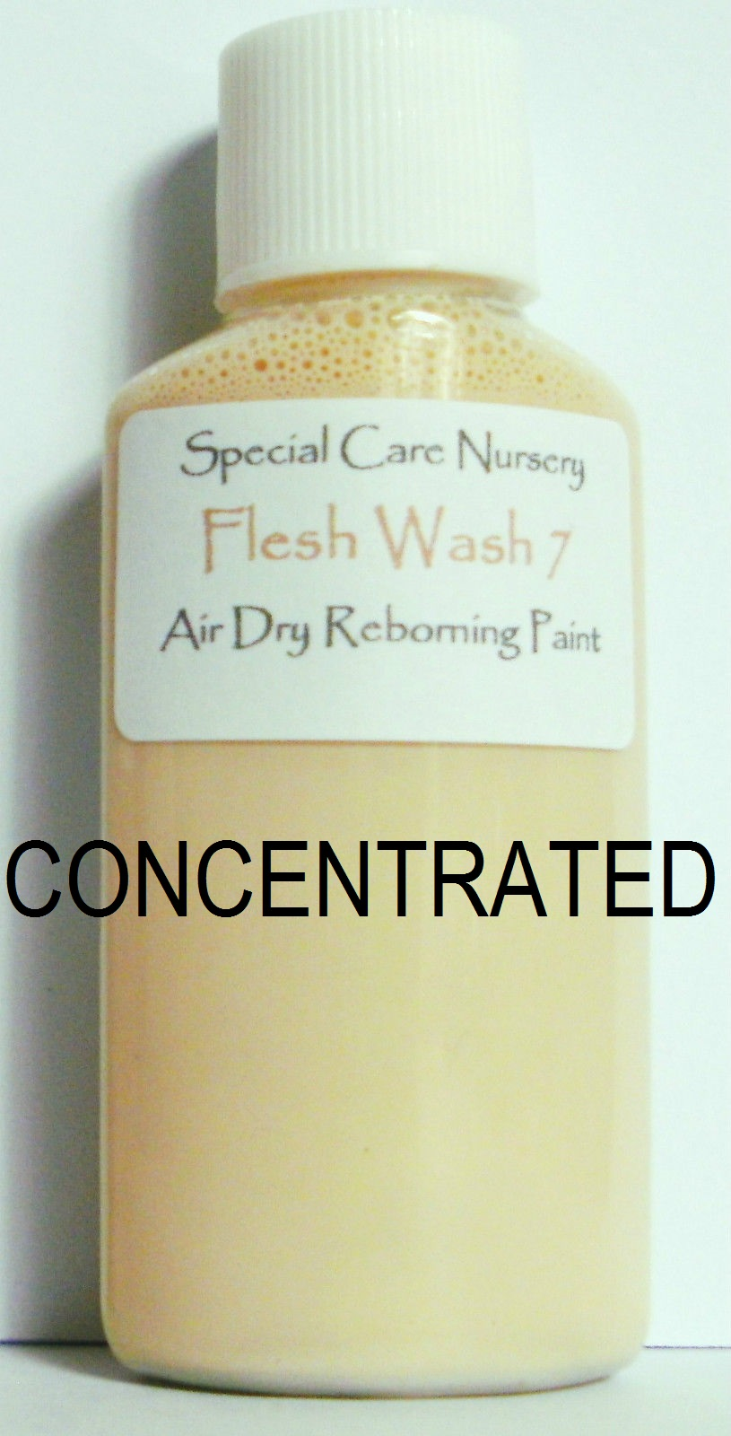 Special Care Nursery Air dry paints - *  The Washes* - 30ml FLESH WASH 7. *