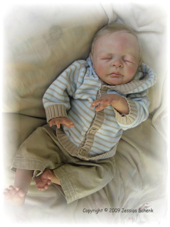 Sleeping - Ben kit by Pat Jessica Schenk - *COMPLETE REBORN STARTER SET!!*