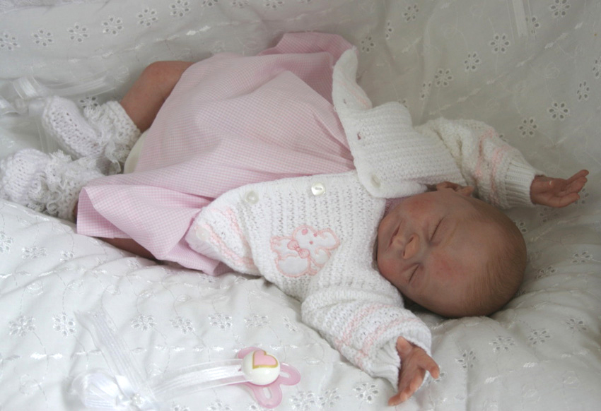 Sleeping - Faith kit - *COMPLETE REBORN STARTER SET!!* Makes 16