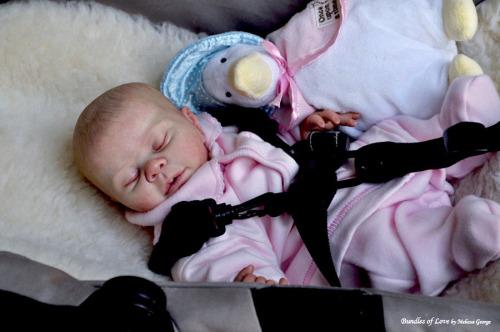 Sleeping - Kaelin kit by Denise Pratt - *COMPLETE REBORN STARTER SET!!* Mak