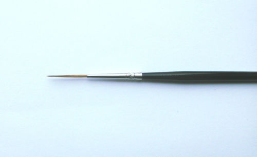Fine Paint Brush LONG '00' SCN Air Dry - For our HAIR PAINTS/BROWS - Reborn