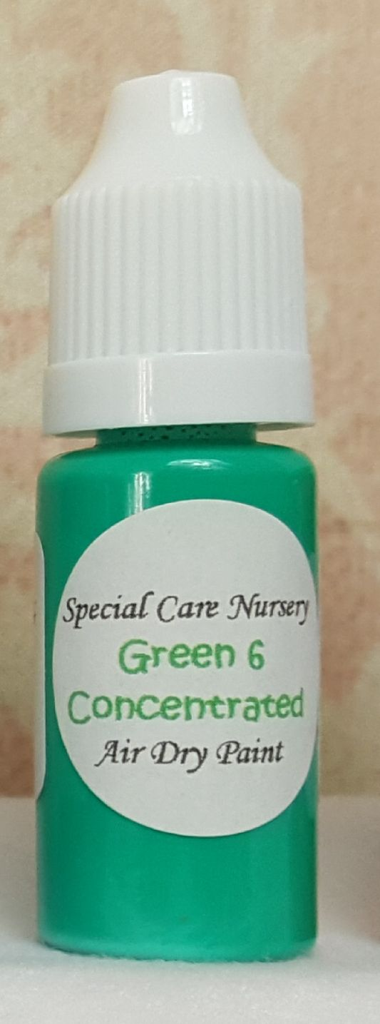 Special Care Nursery Air dry paints - *The concentrated paints* - 10ml Gree