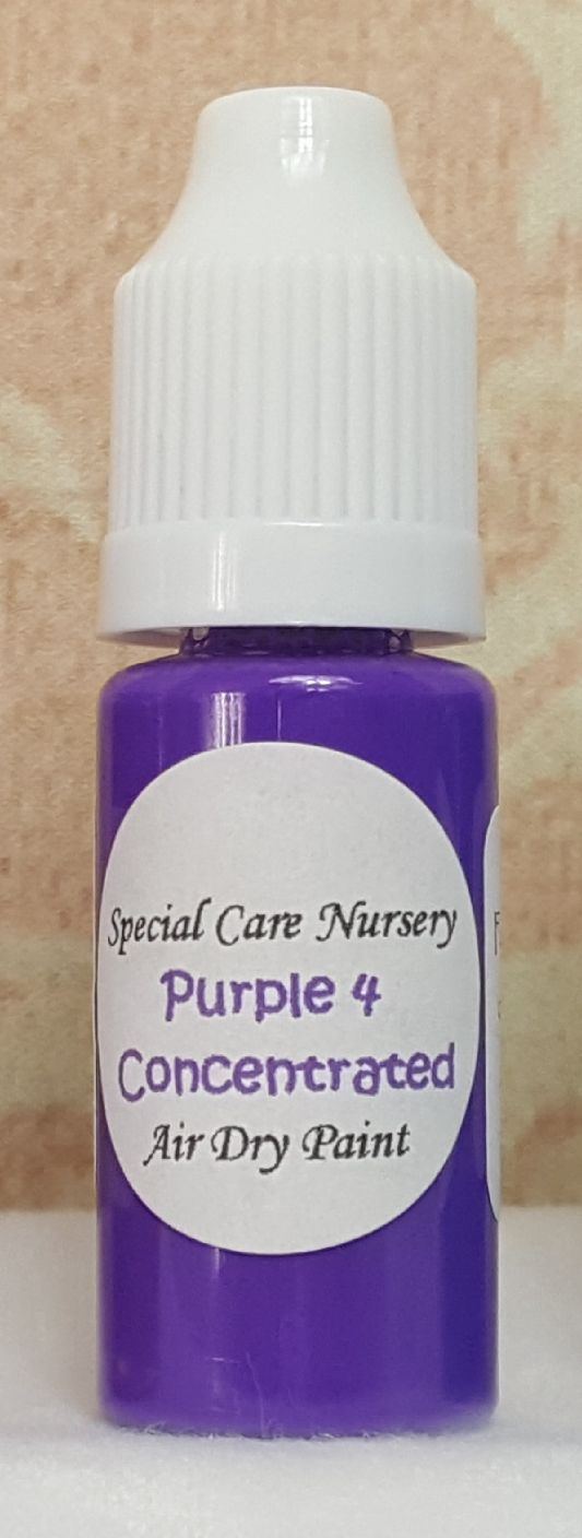 Special Care Nursery Air dry paints - *The concentrated paints* - 10ml Purp