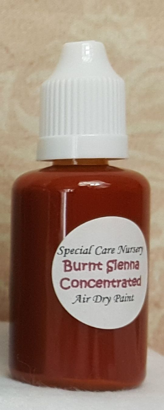 Special Care Nursery Air dry paints - *The concentrated paints* - 30ml Burn