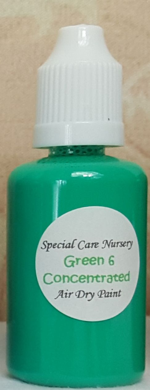 Special Care Nursery Air dry paints - *The concentrated paints* - 30ml Gree