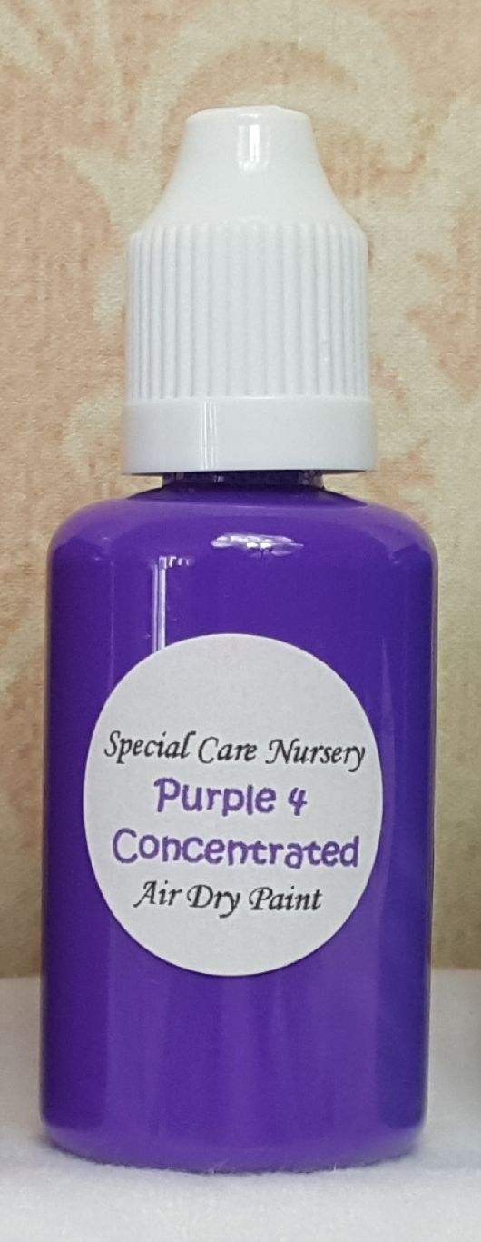 Special Care Nursery Air dry paints - *The concentrated paints* - 30ml Purp