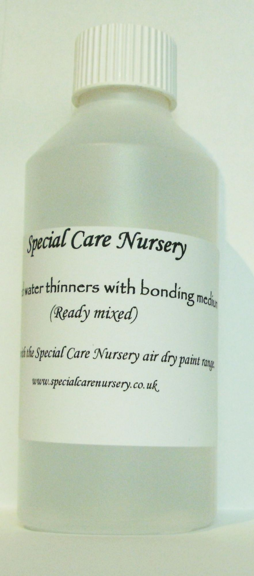 Special Care Nursery Air dry paints -  DISTILLED WATER THINNERS with added