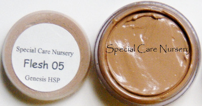 Genesis Heat Set Oil Paints 2g/ml pot Flesh 05