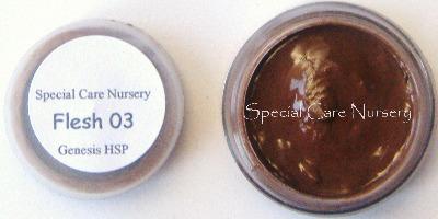 Genesis Heat Set Oil Paints 2g/ml pot Flesh 03