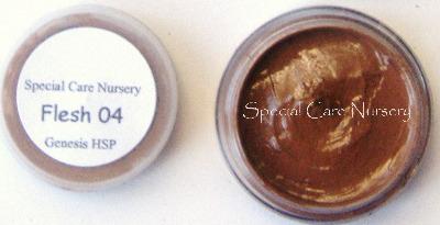 Genesis Heat Set Oil Paints 2g/ml pot Flesh 04