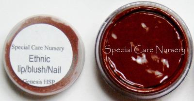 Genesis Heat Set Oil Paints 2g/ml pot Ethnic Lip/blush/nail