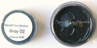 Genesis Heat Set Oil Paints 2g/ml pot - Gray/Grey 02