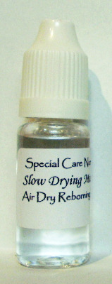 Special Care Nursery Air dry paints - 10ml Slow Drying Medium.