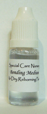 Special Care Nursery Air dry paints - 10ml Bonding Medium.