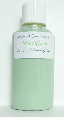 Special Care Nursery Air dry paints - *The Washes* No.1 - 30ml MINT WASH. F