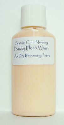 Special Care Nursery Air dry paints - *The Washes* No.7 - 30ml PEACHY FLESH