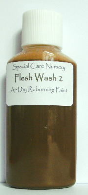 Special Care Nursery Air dry paints - *The Flesh Washes* - 30ml  FLESH WASH