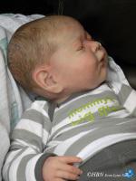 Sleeping baby - Gena, by Michelle Fagan