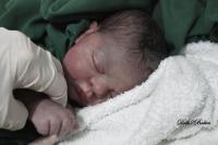 "Sleeping baby - Precious Gift, by Cindy Musgrove - 19"" baby kit."
