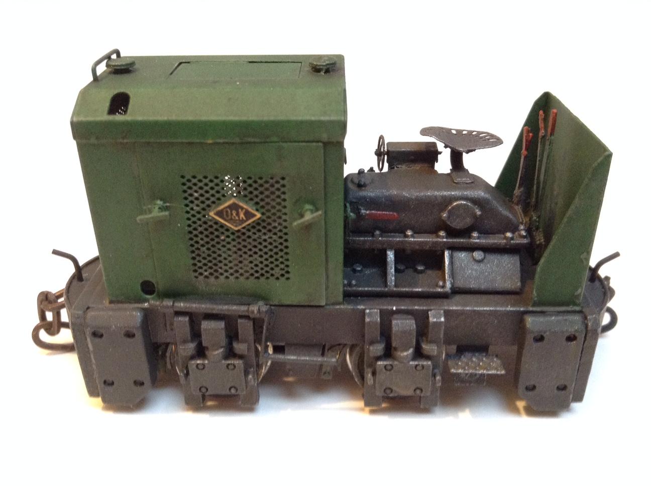 1:43 O&K MD2 Open Cab Diesel Locomotive Kit