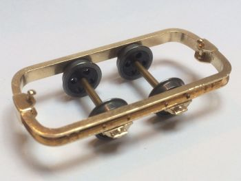 3D Printed Brass Dolberg Chassis