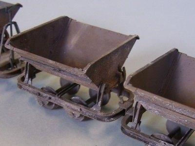 3 pack, Dolberg 0.75 Muldenkipper Skips (pack A)
