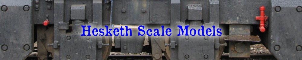 www.heskethscalemodels.com, site logo.