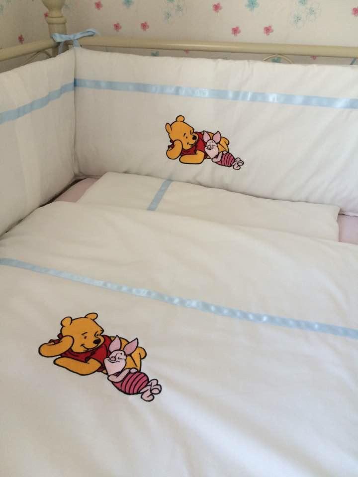 Winnie The Pooh 3 Piece Baby Bedding Set