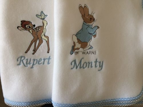 Peter Rabbit Fleece Baby Blanket