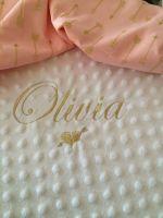 Designer Backed Fleece Blanket