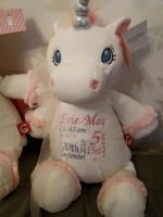 Personalised Unicorn Cubbie Soft Toy