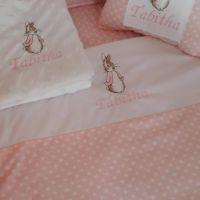 Flopsy Bunny 3 Piece Baby Bedding Set