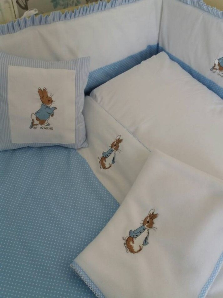 Peter Rabbit Jemima Puddleduck Nursery Bedding Package