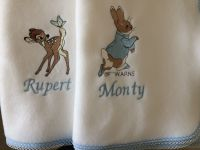 Peter Rabbit Fleece Baby Blanket