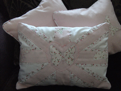 Laura Ashley Union Jack Style Cushion
