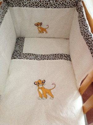 Lion King 3 Piece Baby Bedding Set