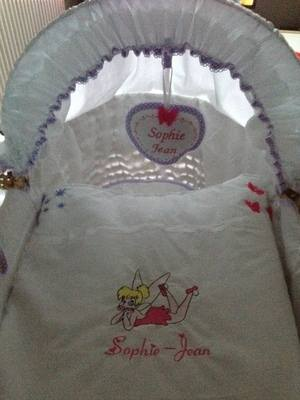 5 Piece Moses Basket Set